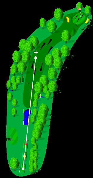 Hole 14 Guide Image